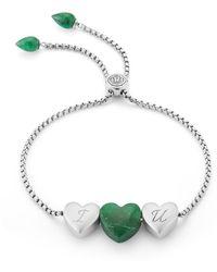LMJ Luv Me Green Aventurine Bracelet