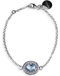 Vintouch Italy - Luccichio Sky Blue Topaz Bracelet - Lyst