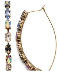 Sorrelli Vera Hoop Earrings - Multicolor