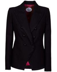 The Extreme Collection Black Blazer Cordelia