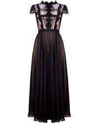 Ukulele Willow Dress - Black