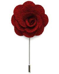 Tom Astin Madrid Lapel Pin - Red