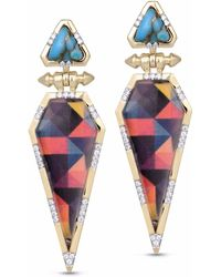 LMJ - Fearless Earrings - Lyst