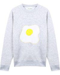 McIndoe Design - Grey Egg Sweatshirt - Lyst