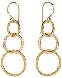 Mirabelle Lolita Loop Earrings - Metallic