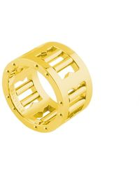 Tissuville Matte Gold Ring - Metallic