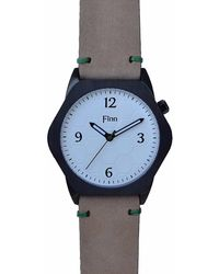 Finn Watches - Fingal's Cave White With Tan Strap - Lyst