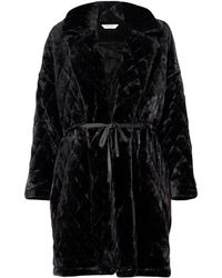 Paisie - Quilted Fur Coat - Lyst