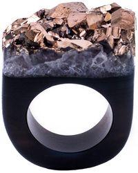 Tiana Jewel Ember-metallic-rose-gold-ring-moro-collection