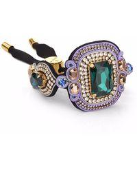 Izabela Felinski - Stylish Emerald Bracelet - Lyst