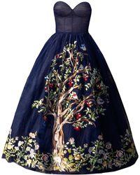 MATSOUR'I Dress Silva - Blue
