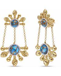 LMJ Sunny Cascade Earrings - Multicolour