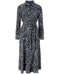 Baukjen - Fleur Shirt Dress In Black Spring Bloom - Lyst