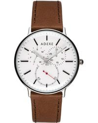 ADEXE Watches - They Grande White & Brown - Lyst