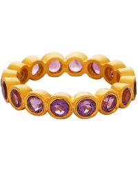 Carousel Jewels - Amethyst Gemstones Band - Lyst