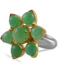 Emma Chapman Jewels Elara Chrysoprase Ring - Green