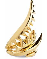 Kasun - Serpent Ring Gold - Lyst