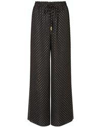 Kalmar Ayah Black & Gold Trousers