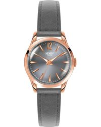 Henry London - Ladies 25mm Finchley Leather Watch - Lyst