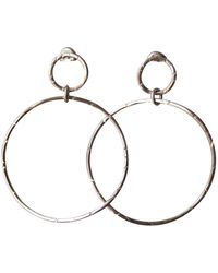 Elena Jewelry Concepts Silver Wave Earrings - Metallic