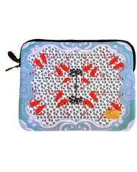 Jessica Russell Flint The Flamingo Laptop Case - Multicolour