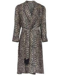 Lotte.99 Cheetah Robe - Brown
