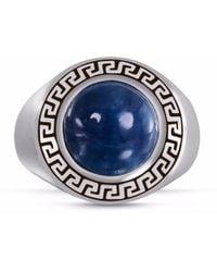 LMJ Blue Apatite Stone Ring