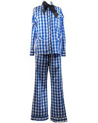 Lotte.99 Check Blue Pyjamas