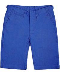 Pink House Mustique - Mens Linen Shorts Dazzling Blue - Lyst