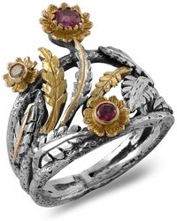 Emma Chapman Jewels - Talia Pink Tourmaline Diamond Ring - Lyst