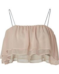Supersweet x Moumi - Boo Boo Flounce Bustier - Lyst