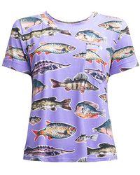 TOMCSANYI Amur T-shirt - Blue