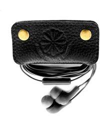 Nadia Minkoff Earbud Holder Black