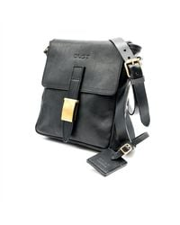 THE DUST COMPANY Mod 202 Small Messenger Bag In Arizona Black