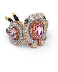 Izabela Felinski - Majestic Pink Bracelet - Lyst
