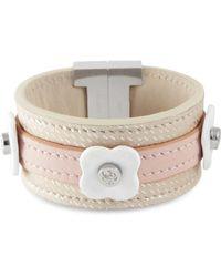 Tissuville - Say Bonjour Bracelet White - Lyst