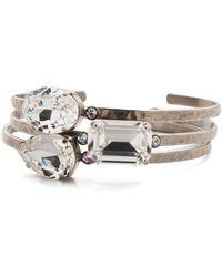 Sorrelli Leslie Cuff Bracelet - Metallic