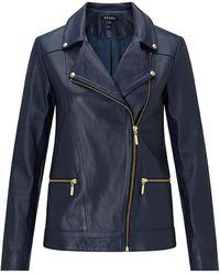 Baukjen Kara Jacket In Classic Navy - Blue