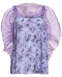 Helene Galwas Top Doris Purple