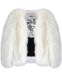 Florence Bridge Creamy Cloud Matilda Jacket - White