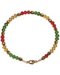Shinar Jewels Assyrian Glass Bracelet - Metallic
