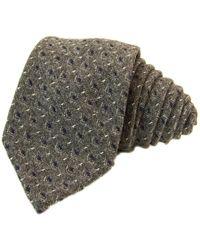40 Colori Grey Diamonds Wool Tie