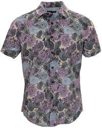 lords of harlech Scott Mums Floral Lavender - Multicolour