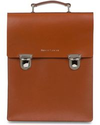 Sophie Fleming - The Carnaby Backpack Tan - Lyst