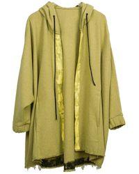 Zsigmond Dora Menswear Pear Cardigan - Green
