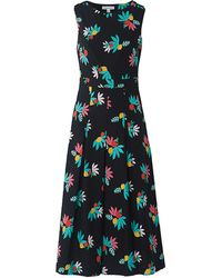 Emily and Fin Simone Black Summer Fruits Jumpsuit
