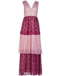 Roses Are Red Ella Linen & Lace Dress - Multicolour