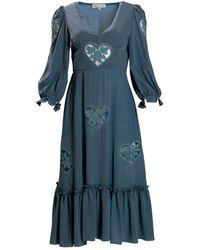 Kristinit Blue Sirsna Dress
