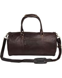 8a03fb125af8 Lyst - Mahi Leather Overnight gym Bag In Venetian Red in Red for Men