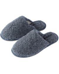 ONAIE Women's Grey Wool Mules